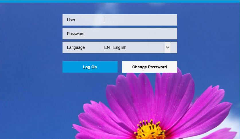 sap fiori launchpad login page