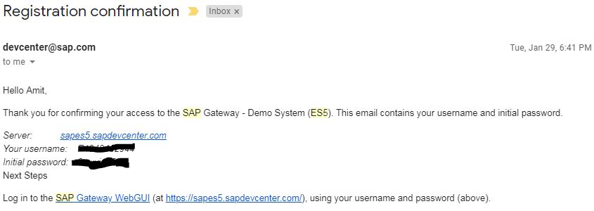 sap demo gateway system, sap es5 odata, sap es5 system, es5 login, es5 odata service, sap es5 registration, sap netweaver gateway system demo es5, create account in es5 gateway demo system