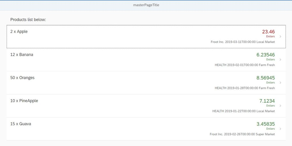 sapui5 routing and navigation with parameter example
