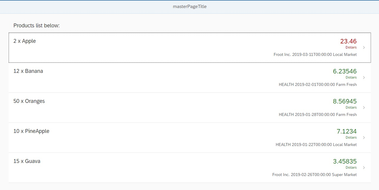 SAPUI5 Routing and Navigation with Parameter – Part 9
