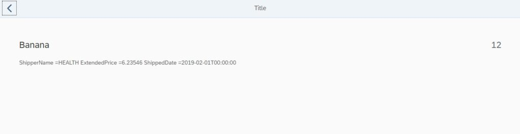 sapui5 routing and navigation with parameter xml view example