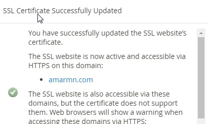 Free SSL for WordPress website hosted on GoDaddy