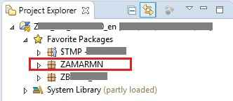 ABAP in Eclipse Create Function Group and Function Module