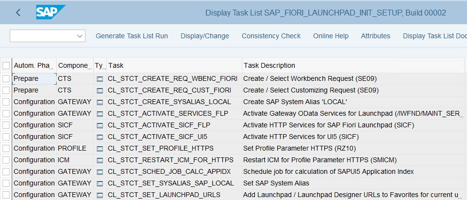 SAP_FIORI_LAUNCHPAD_INIT_SETUP